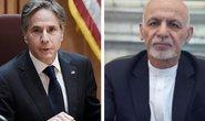 Cựu tổng thống Afghanistan nói gì với ngoại trưởng Mỹ trước khi bỏ trốn?