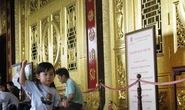 Bình Dương: Mở cửa miễn phí vĩnh viễn đền thờ dát vàng 24K