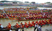 Festival đua ghe Ngo khu vực đồng bằng sông Cửu Long
