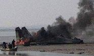 Máy bay quân sự Trung Quốc rớt xuống biển