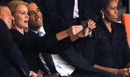 Bà Obama không giận ảnh tự sướng của chồng?