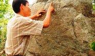 Hòn đá khắc chữ cổ ở Gia Lai lại gây chú ý
