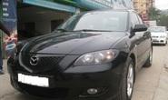 Xe Mazda 3 đỗ trước cửa nhà bỗng nhiên bốc cháy