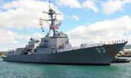 Tàu khu trục tên lửa mạnh nhất của Mỹ thăm VN