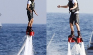 "Leonardo DiCaprio tự tin ""bay"" trên mặt nước"