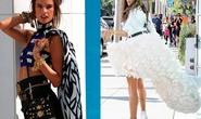 """Siêu mẫu Alessandra Ambrosio đẹp """"ngất ngây"""" trên phố"""