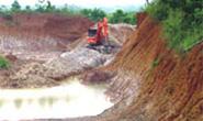 Xã Phước Tân, huyện Long Thành, tỉnh Đồng Nai: Đất bị khai thác bừa bãi