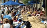 3 triệu người đã đến với bãi biển sông Seine
