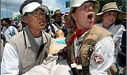 Một nông dân Hàn Quốc tự tử phản đối WTO