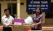 Tặng nhà công vụ cho giáo viên tỉnh Bình Phước