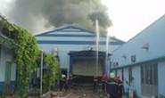 TPHCM: Cháy lớn tại Công ty TNHH Thiện Nguyễn, quận 12