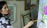 NSND Trà Giang: Vẽ tranh để vơi đi nỗi buồn