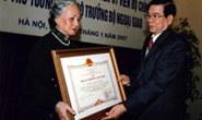 Truy tặng cố Bộ trưởng Nguyễn Cơ Thạch Huân chương Sao Vàng