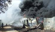 Cháy lớn tại Công ty TNHH Lập Cố - TPHCM