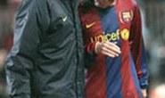 Messi chấn thương khiến Barca kém vui