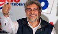 Cựu giám mục Fernando Lugo đắc cử