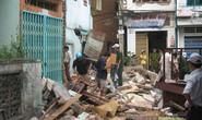 Nổ bình ga làm sập nhà, 5 người bị thương