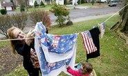 Người Mỹ đấu tranh giành quyền… phơi đồ