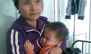 Bị bố dượng đánh, cháu bé 2 tuổi hoảng loạn