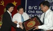 Chủ tịch nước Nguyễn Minh Triết thăm công nhân công ty Vissan