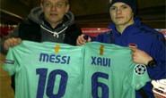 Jack Wilshere nhờ Fabreegas xin áo ...Messi