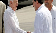 Cựu tổng thống Mỹ Jimmy Carter đến Cuba