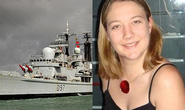 Nữ đại úy tự sát trên tàu chiến Anh