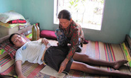 Gần 4 năm liệt giường vì thiếu tiền chữa bệnh