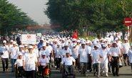 Hơn 5.000 người đi bộ vì người nghèo