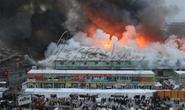 Nga: Chợ có nhiều người Việt cháy suốt đêm