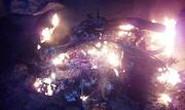 Nghệ An: Cẩu tặc chạy thoát, người dân đốt xe máy