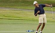 Tổng thống Obama so tài với Tiger Woods
