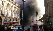 Cháy bãi đậu xe, hàng loạt xe sang ra tro