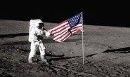 Một lá cờ cắm trên mặt trăng mất tích