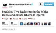 """Mỹ hoảng loạn vì tin """"nổ Nhà Trắng, Obama bị thương"""""""