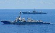 Soái hạm Mỹ vào biển Đông