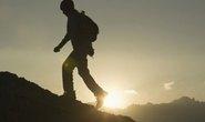 Ong chích nhà leo núi chết treo trên vách đá