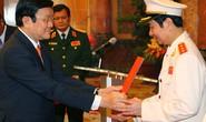 Thăng cấp thượng tướng cho 3 cán bộ cao cấp của lực lượng công an