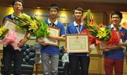 Con hai công nhân giành HCB Olympic Tin học