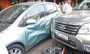 Ô tô điên tông xe liên hoàn ở Cần Thơ, 3 người bị thương