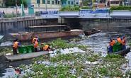 Rác đầy kênh Nhiêu Lộc - Thị Nghè
