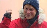 Hoàng tử Harry đến Nam Cực tranh tài