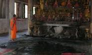 Cháy chùa 700 năm tuổi ở Sóc Trăng do đốt đèn cầy