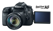 Canon ra mắt 70D, công nghệ Dual Pixel CMOS