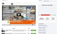 Cộng đồng mạng quyên góp giúp nạn nhân động đất