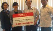 70 triệu đồng hỗ trợ học sinh nghèo