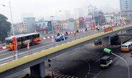 Thông xe cầu vượt dầm thép lớn nhất Hà Nội