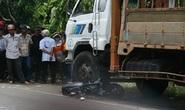 Bị xe tải cán chết khi truy đuổi cướp