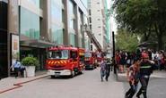 Diễn tập chữa cháy, cứu hộ tại Vincom Center Đồng Khởi