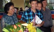 Ngày về đầy ắp niềm vui của HCĐ thế giới Nguyễn Tiến Minh